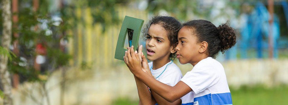 Estudantes Fazem Oficina De Fotografia No Santa Rita